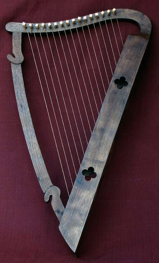 Example of one of my Bardic Harps
