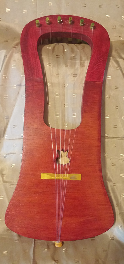 Example of one of my Gotland Lyres